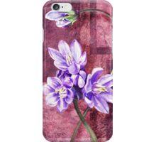 Gorgeous Purple Flowers Decor iPhone Case/Skin