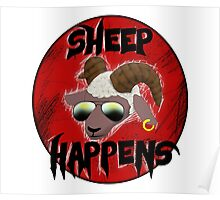 Sheep Happens Poster