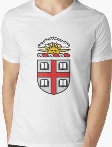 Brown University Ivy League Mens V-Neck T-Shirt