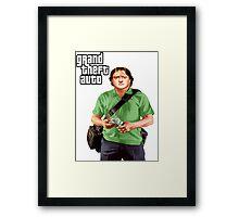 GTA-GabeN Framed Print
