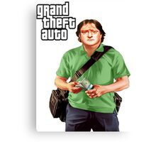 GTA-GabeN Canvas Print