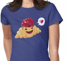 breakfast love Womens Fitted T-Shirt