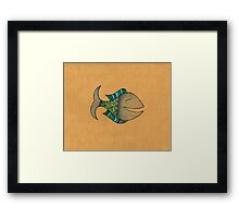Happy fish #4 Framed Print