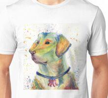 Labrador Retriever Watercolor Nursery Art Unisex T-Shirt