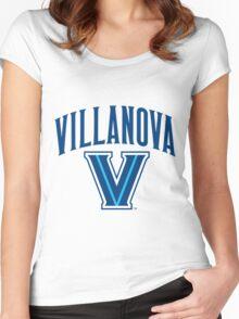 Villanova Nova Nation Logo Women's Fitted Scoop T-Shirt