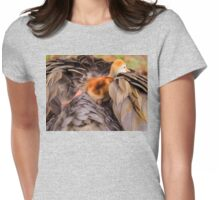 Looking for mother's warmth Womens Fitted T-Shirt