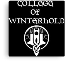 Skyrim College of Winterhold Canvas Print