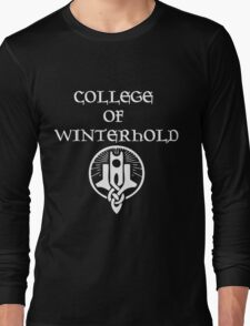Skyrim College of Winterhold Long Sleeve T-Shirt