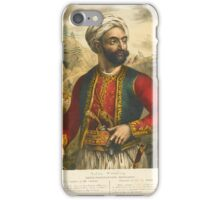Friedel, Adam de THE GREEKS. TWENTY FOUR PORTRAITS OF THE PRINCIPAL LEADERS AND PERSONAGES WHO HAVE MADE THEMSELVES MOST CONSPICUOUS IN THE GREEK REVOLUTION. LONDON AND PARIS iPhone Case/Skin