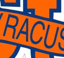Syracuse Orange University Blue Sticker