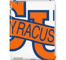 Syracuse Orange University Blue iPad Case/Skin