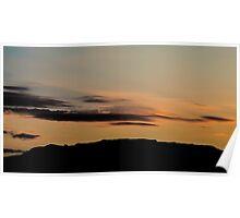 Sunset Sandias Poster