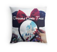 Dreams Come True (Orlando, Florida) Throw Pillow