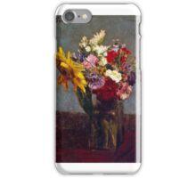 Henri Fantin-Latour - Flowers  iPhone Case/Skin