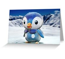 Realistic Pokemon: Piplup Greeting Card