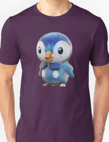 Realistic Pokemon: Piplup Unisex T-Shirt