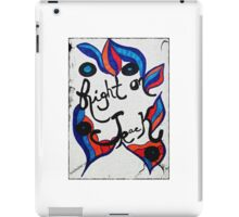 Rachel Doodle Art - Right On Track iPad Case/Skin