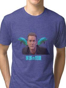 Aesthetic - Jeremy Kyle Dolphins Vaporwave Tri-blend T-Shirt