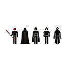 Star Wars Villains by davechaps
