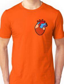 Anatomical Heart Pattern Unisex T-Shirt