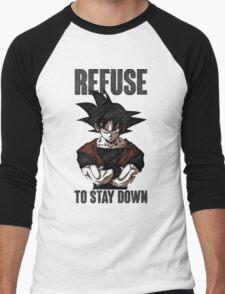 Refuse to stay Down Men's Baseball ¾ T-Shirt