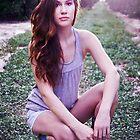 Keren in an Orange Grove by redhairedgirl