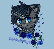 Cinderplet Warrior Cats Womens Fitted T-Shirt