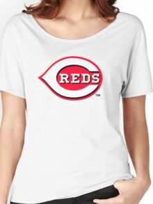 cincinnati reds Women's Relaxed Fit T-Shirt