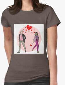 Love at first sight Womens Fitted T-Shirt