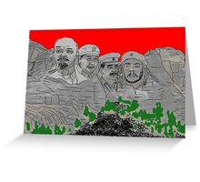 Mont Russes-mort Greeting Card