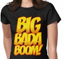 Big Bada Boom Comic Book T Shirt Womens Fitted T-Shirt