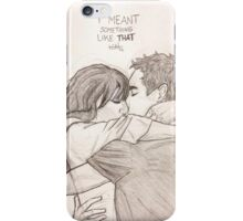 Nick and Jess iPhone Case/Skin