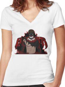 Alternate Prince Devitt - Finn Bálor Women's Fitted V-Neck T-Shirt