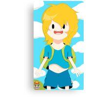 Finn The Human (Adventure Time) Canvas Print