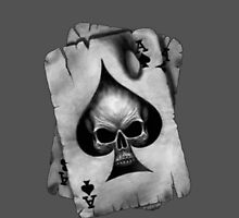 Ace of Skulls by BevsUK