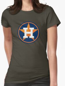 huoston astros Womens Fitted T-Shirt