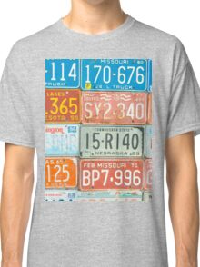 Vehicle rego plates Classic T-Shirt