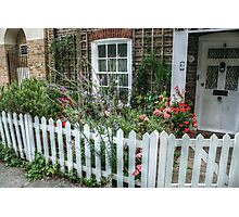 Small Fenced-In Garden Photographic Print