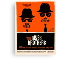 classic movie : The Blues Brothers Canvas Print