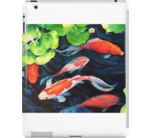 """Koi Coy"" by Christie Marie iPad Case/Skin"