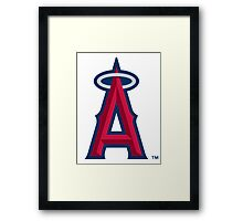 los angels of anaheim Framed Print