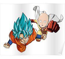 Goku x saitama Poster
