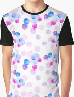 Abstract watercolor stains Graphic T-Shirt