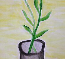 Wildflowers In A Vase by Tracy Wazny