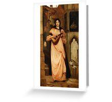 The Minstrel by Kate Elizabeth Bunce Greeting Card