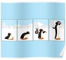 The penguin evolution Poster
