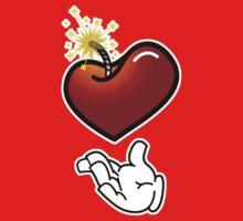 LOVE is Tha BOMB! Kids Tee