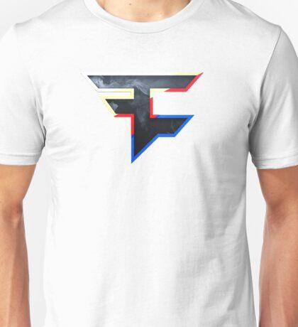 Faze 2.0   World Logo   White Background Unisex T-Shirt