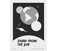 """""""The Twilight Zone"""" Third from the Sun Photographic Print"""