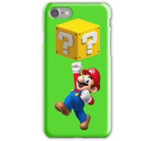 Mario Jumping iPhone Case/Skin
